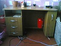 Стол компьютерный с карго на роликах под заказ