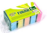 Губки кухонні ТМ EcoPack 5 шт.