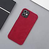 "Nillkin Apple iPhone 12 mini (5.4"") Qin leather Red case Кожаный Чехол Книжка, фото 6"