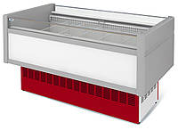 Витрина холодильная низкотемпературная островная ВХНо 1,8 Купец МХМ    (боковины АБС)