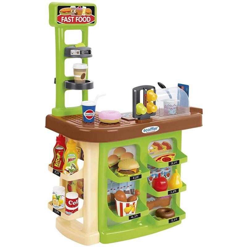 Игровой набор Ресторан Ecoiffier Fast Food 1788