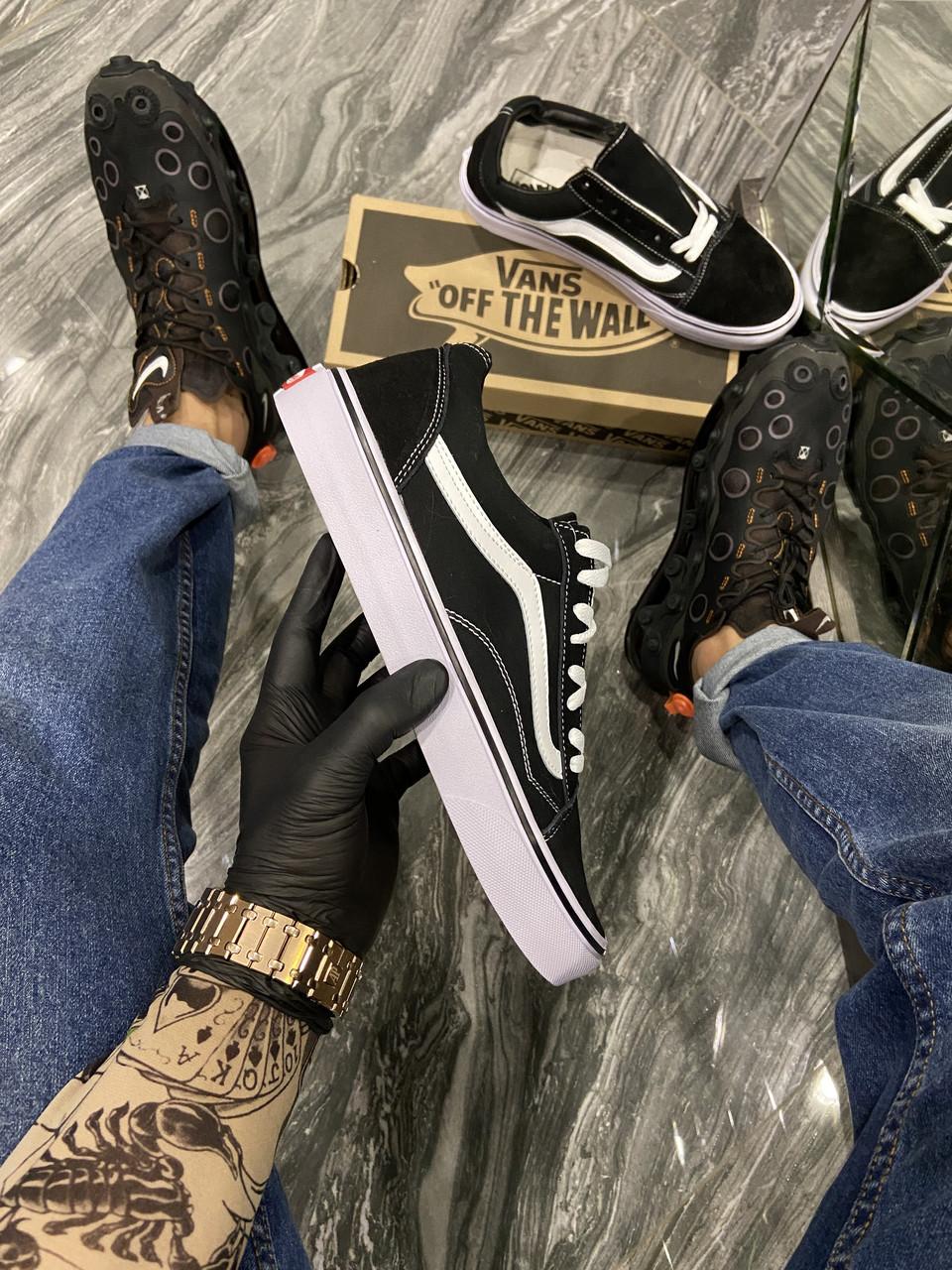 Vans Old Skool Black White (Черный)