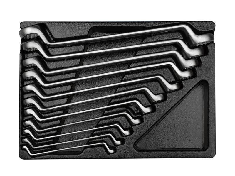 Набор ключей накидныч (комплект) в ложементе  6-32 мм.