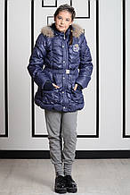 Теплые брюки для девочки Krytik Италия 84502 / KR / 00A Серый
