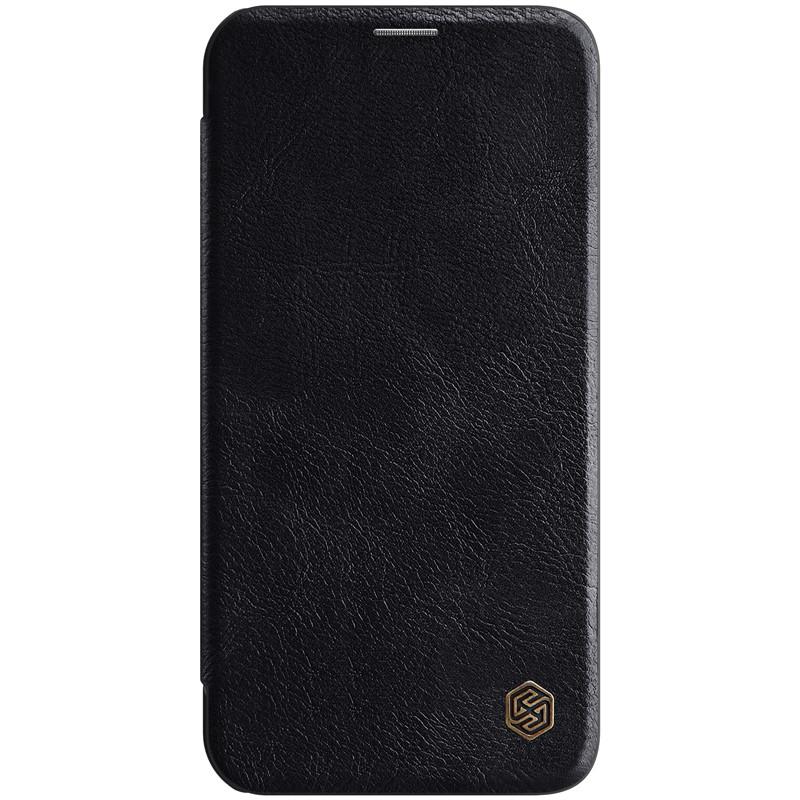 "Nillkin Apple iPhone 12 mini (5.4"") Qin leather Black case Кожаный Чехол Книжка"