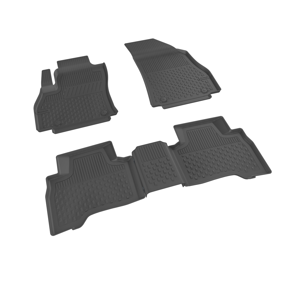 Автомобильные коврики в салон SAHLER 4D для BMW 3 series F30 2012-2019 BM-02