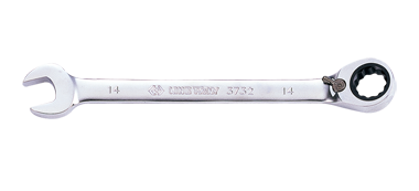 Ключ комбинированный 18мм с  трещоткой и флашком