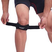 Спортивний бандаж на колінний суглоб з фіксацією надколінка, фото 1