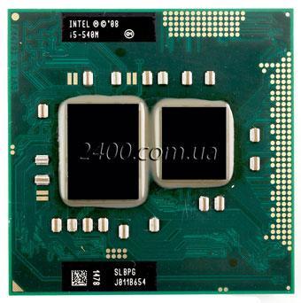 Процессор Intel Core i5-540M 2.53 - 3.07 GHz Socket G1 / Socket rPGA988A для ноутбука