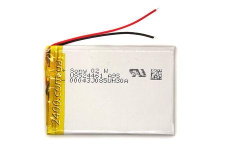 Акумулятор 1800мАч 524461 3,7 для MP3 плеєра, планшета, електронної книги 3.7 v 5.2*43*61 мм (1800mAh)