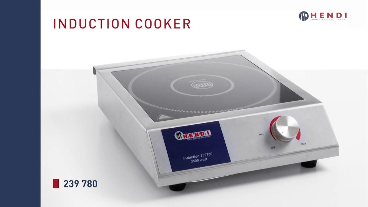 Плита индукционная 3500 M Hendi 239780
