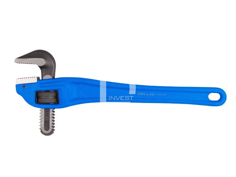 """Алюминиевый коленчатый трубный ключ. 90°. длина 18""""."""