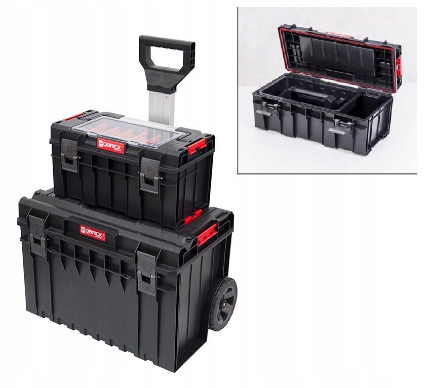 Ящик для инструментов QBRICK SYSTEM CART + QBRICK SYSTEM PRO 500 Размер : 585 x 460 x 765