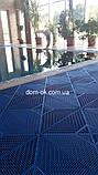 """Пластиковые модульные покрытия для пола """"Сквер"""", размер 378х378х11мм, фото 7"""