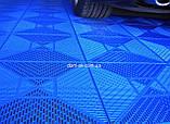 """Пластиковые модульные покрытия для пола """"Сквер"""", размер 378х378х11мм, фото 10"""