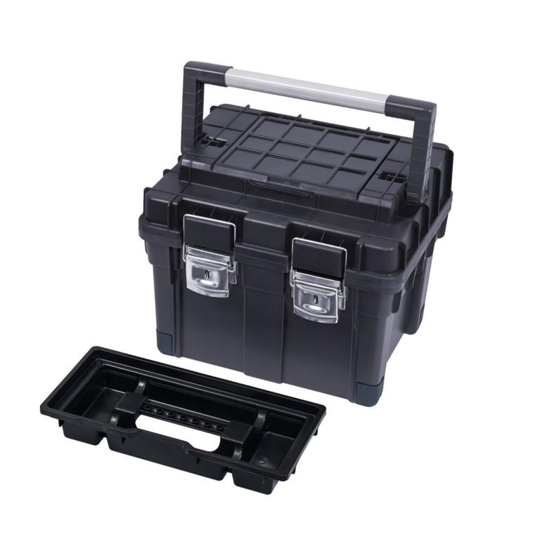 Ящик для инструмента  HD Compact 2 черный (450 x 350 x 350)
