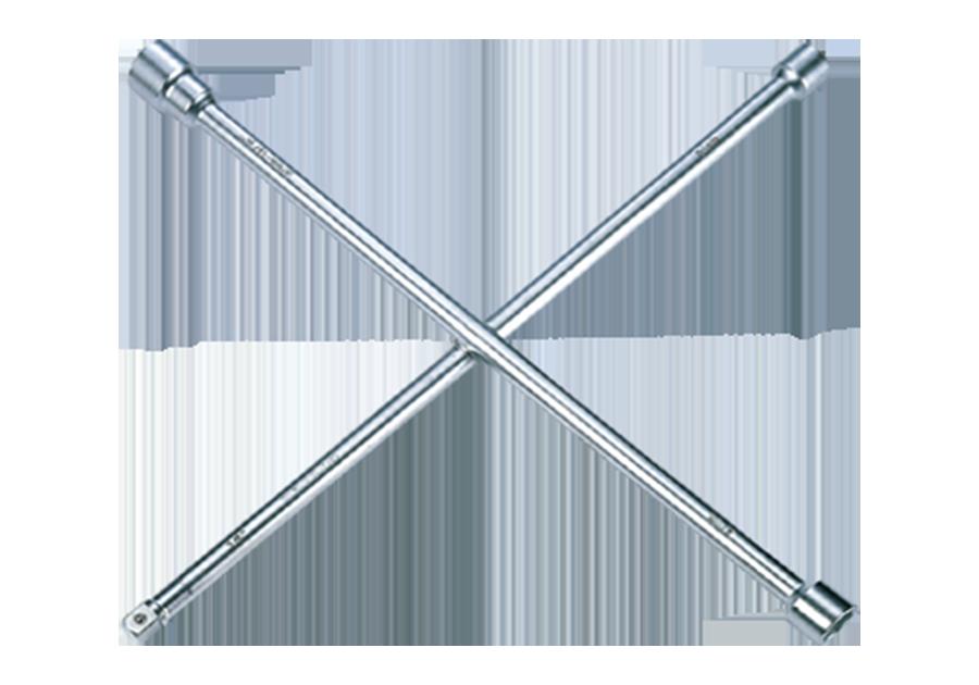 Ключ крестообразный 24/27/33 мм L=700мм. 3/4