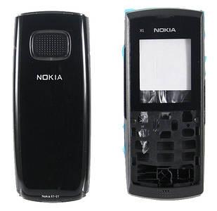 Корпус для Nokia X1-01 черный