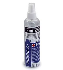 Дезинфицирующее средство для рук Clean Stream жидкая форма 0,25 л - флакон с распылителем