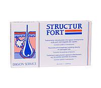 Ампульное средство для восстановления безжизненных, посеченных волос Dikson Structur Fort 10х12ml