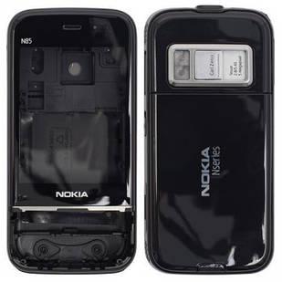 Корпус для Nokia N85 черный