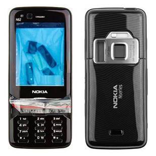 Корпус для Nokia N82 черный