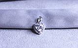Кулон сердце фирмы Xuping (Rhodium color 2), фото 2