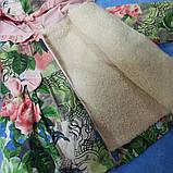 Пальто модное для девочки демисезонное на замке с капюшоном., фото 2