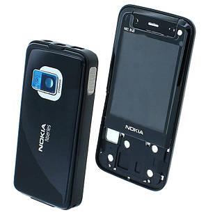 Корпус для Nokia N81 черный
