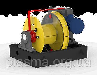 Лебідка маневрова ЛМ-140 з механізмом відключення барабану
