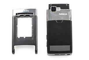 Корпус для Nokia N76 черный