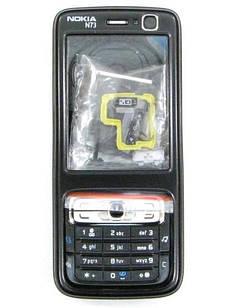 Корпус для Nokia N73 червоний