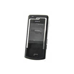Корпус для Nokia N72 черный