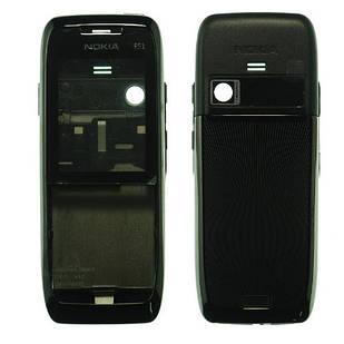 Корпус для Nokia E51 черный