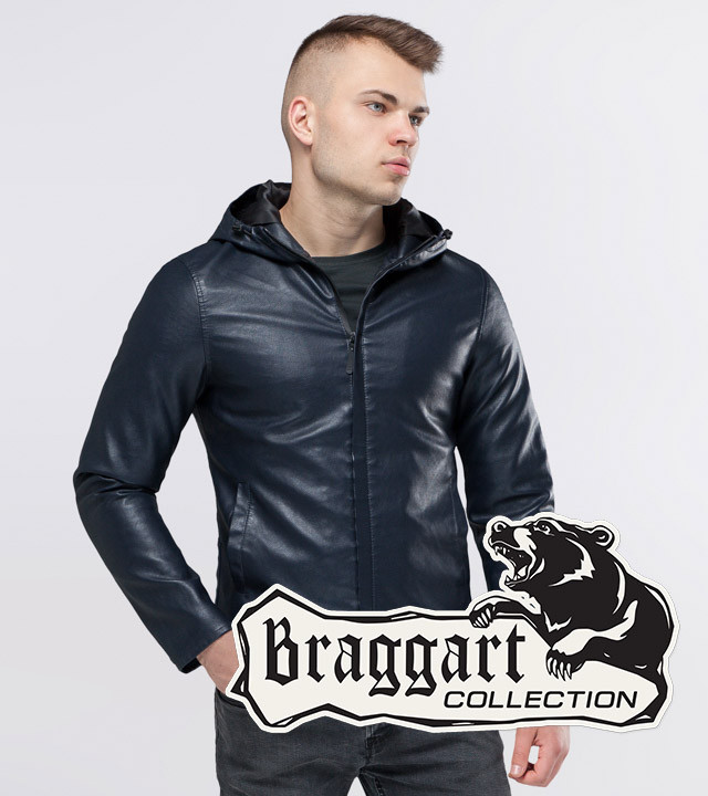 Куртка осенняя 15353 темно-синий