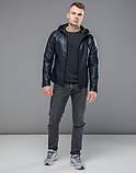 Куртка осенняя 15353 темно-синий, фото 2