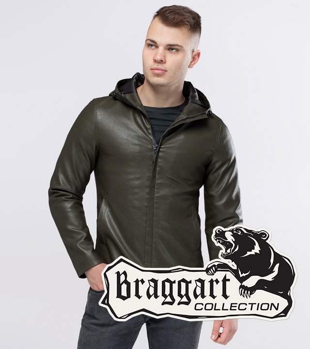 Осенняя куртка 15353 хаки
