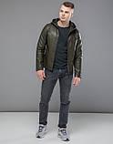 Осенняя куртка 15353 хаки, фото 2