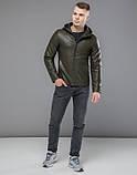Осенняя куртка 15353 хаки, фото 3
