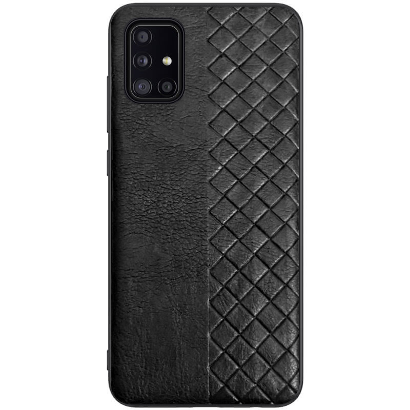 Кожаная накладка WeaveSide (PU) для Samsung Galaxy A51