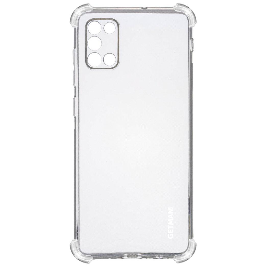 TPU чехол GETMAN Ease logo усиленные углы для Samsung Galaxy A31