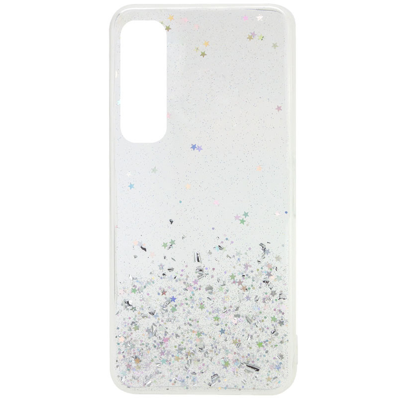 TPU чехол Star Glitter для Xiaomi Mi Note 10 Lite
