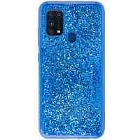 TPU+PC чехол Sparkle (glitter) для Samsung Galaxy M31