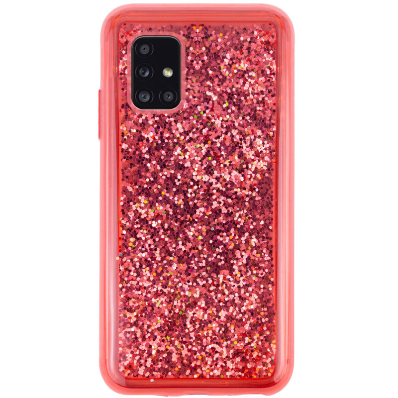 TPU+PC чехол Sparkle (glitter) для Samsung Galaxy A51