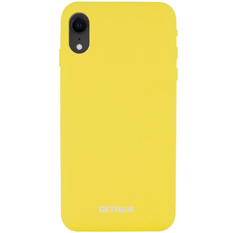 "Чехол Silicone Case GETMAN for Magnet для Apple iPhone XR (6.1"")"