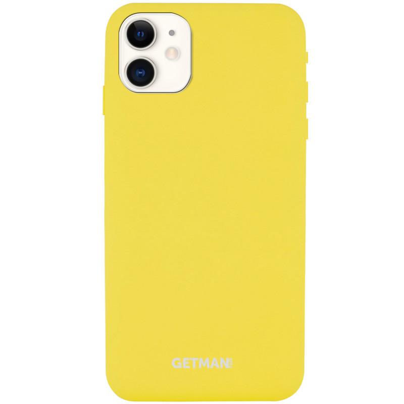 "Чехол Silicone Case GETMAN for Magnet для Apple iPhone 11 (6.1"")"