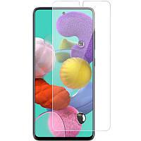 Полимерная пленка 3D Clear (full glue) (тех.пак) для Samsung Galaxy A51