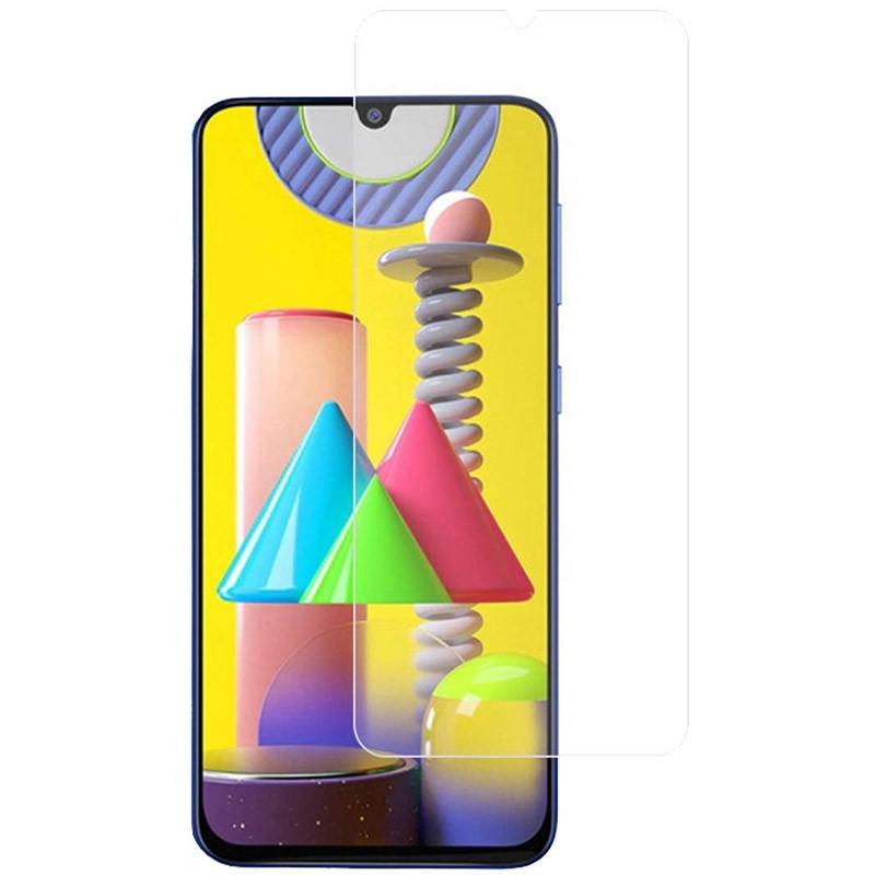 Полимерная пленка 3D Clear (full glue) (тех.пак) для Samsung Galaxy A31