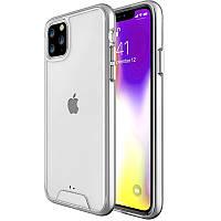 "Чехол TPU Space Case transparent для Apple iPhone 11 Pro Max (6.5""), фото 1"