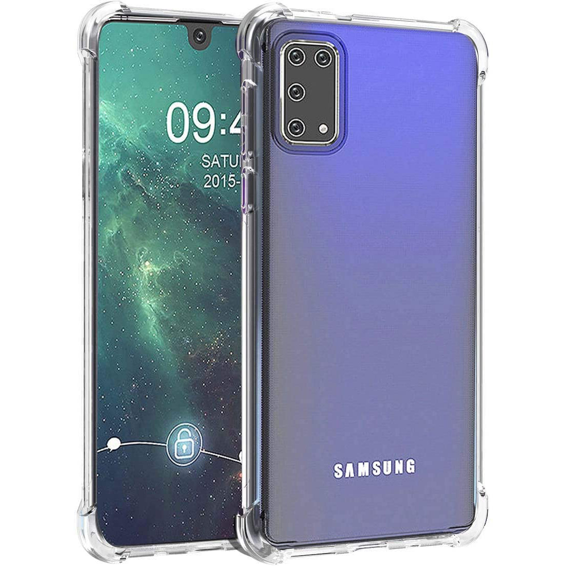 TPU чехол GETMAN Ease с усиленными углами для Samsung Galaxy A41